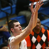 2-24-17<br /> Kokomo vs Fort Wayne Northrop boys basketball<br /> Ty Sparling shoots.<br /> Kelly Lafferty Gerber | Kokomo Tribune