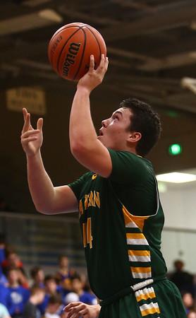 2-7-17<br /> Tipton vs Eastern boys basketball<br /> Eastern's Sam Querry puts up a shot.<br /> Kelly Lafferty Gerber   Kokomo Tribune