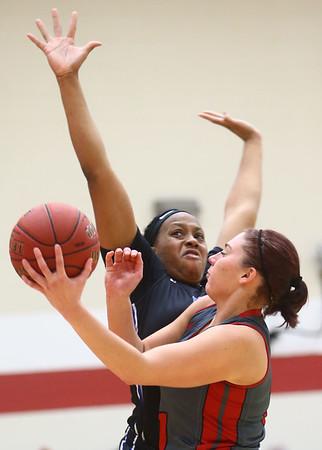 2-25-17<br /> IUK vs Ohio Christian girls basketball<br /> Abby Scott puts up a shot.<br /> Kelly Lafferty Gerber | Kokomo Tribune