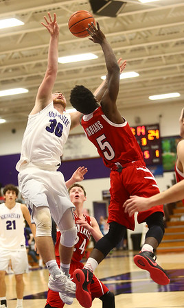 2-17-17<br /> Northwestern defeats Twin Lakes 56-48 for the Hoosier Conference Championship<br /> <br /> Kelly Lafferty Gerber   Kokomo Tribune