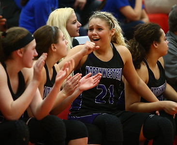 2-11-17 Northwestern vs South Bend St. Joseph girls bball regional  Kelly Lafferty Gerber | Kokomo Tribune