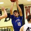 2-21-17<br /> Western vs Carroll boys basketball<br /> Carroll's Quinton Veach shoots.<br /> Kelly Lafferty Gerber | Kokomo Tribune