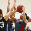 2-25-17<br /> IUK vs Ohio Christian girls basketball<br /> Deja Felder puts up a shot.<br /> Kelly Lafferty Gerber | Kokomo Tribune