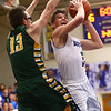 2-7-17<br /> Tipton vs Eastern boys basketball<br /> Tipton's Grant Shively shoots.<br /> Kelly Lafferty Gerber | Kokomo Tribune