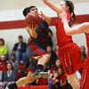 2-22-17<br /> IUK vs Rio Grande girls basketball<br /> IUK's Deja Felder goes up for a shot.<br /> Kelly Lafferty Gerber | Kokomo Tribune