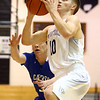 2-21-17<br /> Western vs Carroll boys basketball<br /> Western's Josh Beeler shoots.<br /> Kelly Lafferty Gerber | Kokomo Tribune