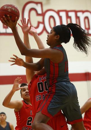 2-22-17<br /> IUK vs Rio Grande girls basketball<br /> IUK's Whitney Williamson shoots.<br /> Kelly Lafferty Gerber | Kokomo Tribune