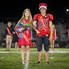 Homecoming Queen Hannah Buchanan and King Alex Bailey.