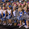 Cheerleaders cheer for WHSV End Zone