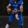 Alec High looks for an open receiver