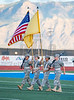 Varsity High School Football.  Centennial Hawks at Cleveland Storm. September 15, 2017.