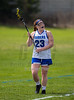 Girls High School Varsity Lacrosse. Corning Hawks at Horseheads Blue Raiders. April 12, 2017.