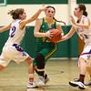 1-31-17<br /> Eastern vs Elwood girls basketball<br /> Eastern's Maci Weeks looks to the basket.<br /> Kelly Lafferty Gerber | Kokomo Tribune
