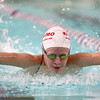 1-10-17<br /> Kokomo swimming<br /> Madison Cleaver in the girls 200 Y IM.<br /> Kelly Lafferty Gerber | Kokomo Tribune