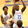 1-13-17<br /> Kokomo vs Harrison boys basketball<br /> Kokomo's Brevin Beard shoots.<br /> Kelly Lafferty Gerber | Kokomo Tribune