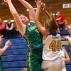 1-19-17<br /> Tri Central vs Eastern girls basketball<br /> Eastern's Hailey Holliday grabs a rebound.<br /> Kelly Lafferty Gerber | Kokomo Tribune