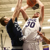 1-3-17<br /> Northwestern vs Central Catholic boys basketball<br /> NW's Trey Richmond shoots.<br /> Kelly Lafferty Gerber | Kokomo Tribune
