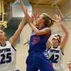 1-17-17<br /> Tipton vs Kokomo girls basketball<br /> Kokomo's Brittany Barnard goes up for a shot.<br /> Kelly Lafferty Gerber | Kokomo Tribune