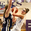 1-11-17<br /> Northwestern vs Oak Hill girls basketball<br /> NW's Madison Layden looks for a pass.<br /> Kelly Lafferty Gerber | Kokomo Tribune