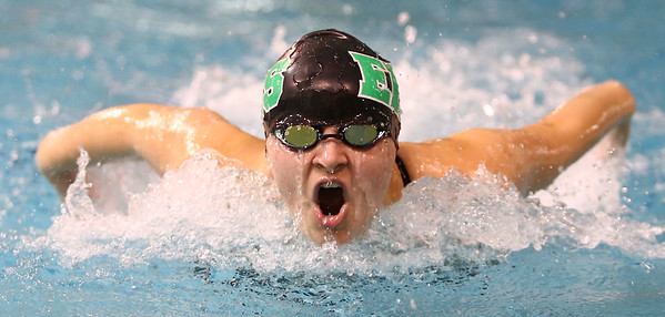 1-5-17<br /> Eastern vs Cass swimming<br /> Eastern's Sariya Bonestell in the 200 Y Medley Relay<br /> Kelly Lafferty Gerber   Kokomo Tribune