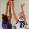 1-17-17<br /> Tipton vs Kokomo girls basketball<br /> Tipton's Kelsey Mitchell shoots.<br /> Kelly Lafferty Gerber | Kokomo Tribune