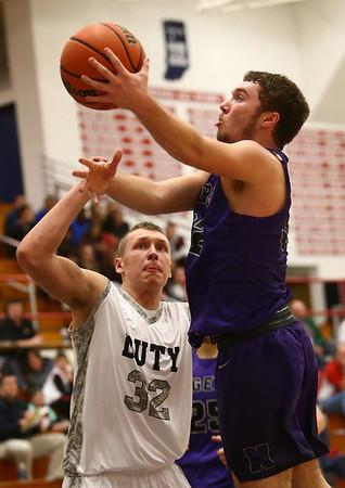 1-20-17<br /> Cass vs Northwestern boys basketball<br /> NW's Noah Dowden shoots.<br /> Kelly Lafferty Gerber   Kokomo Tribune