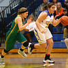 1-19-17<br /> Tri Central vs Eastern girls basketball<br /> TC's Jaide Cassity dribbles down the court.<br /> Kelly Lafferty Gerber | Kokomo Tribune