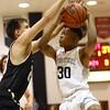 1-27-17<br /> Western vs Peru boys basketball<br /> Western's Jeffrey McClung shoots.<br /> Kelly Lafferty Gerber | Kokomo Tribune