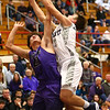 1-20-17<br /> Cass vs Northwestern boys basketball<br /> LC's Alec Eurit grabs a rebound.<br /> Kelly Lafferty Gerber | Kokomo Tribune
