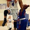1-17-17<br /> Tipton vs Kokomo girls basketball<br /> Tipton's Cassidy Crawford goes for the basket.<br /> Kelly Lafferty Gerber | Kokomo Tribune