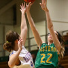 1-31-17<br /> Eastern vs Elwood girls basketball<br /> Eastern's Lexi James shoots.<br /> Kelly Lafferty Gerber | Kokomo Tribune
