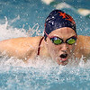 1-5-17<br /> Eastern vs Cass swimming<br /> Cass' Mari Karmel in the 200 Y IM<br /> Kelly Lafferty Gerber | Kokomo Tribune