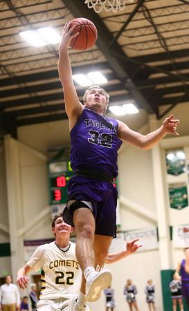1-14-17<br /> Eastern vs Northwestern boys basketball<br /> NW's Noah Dowden goes to the basket.<br /> Kelly Lafferty Gerber   Kokomo Tribune
