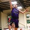 1-14-17<br /> Eastern vs Northwestern boys basketball<br /> NW's Noah Dowden goes to the basket.<br /> Kelly Lafferty Gerber | Kokomo Tribune