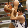 1-3-17<br /> Northwestern vs Central Catholic boys basketball<br /> NW's Thomas Crocker tries to grab the ball from a CC player.<br /> Kelly Lafferty Gerber | Kokomo Tribune