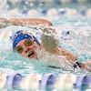 1-10-17<br /> Kokomo swimming<br /> Jessica Estep in the girls 200 Yard Medley Relay.<br /> Kelly Lafferty Gerber | Kokomo Tribune