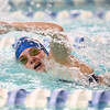 1-10-17<br /> Kokomo swimming<br /> Jessica Estep in the girls 200 Yard Medley Relay.<br /> Kelly Lafferty Gerber | Kokomo Tribune