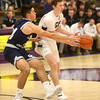 1-3-17<br /> Northwestern vs Central Catholic boys basketball<br /> NW's Peyton Hawk makes a pass.<br /> Kelly Lafferty Gerber | Kokomo Tribune