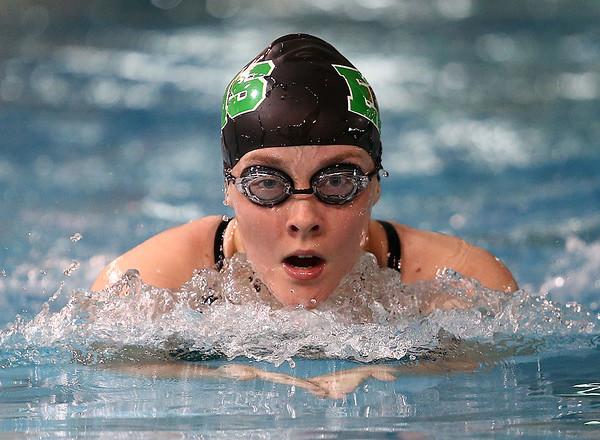 1-5-17<br /> Eastern vs Cass swimming<br /> Eastern's Olivia Mohring in the 200 Y Medley Relay<br /> Kelly Lafferty Gerber | Kokomo Tribune