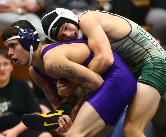 Sectional wrestling