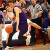 1-20-17<br /> Cass vs Northwestern boys basketball<br /> Cass' #1 fouls NW's Collin Hodson as he tries to steal the ball.<br /> Kelly Lafferty Gerber | Kokomo Tribune
