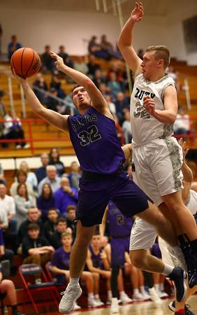 1-20-17<br /> Cass vs Northwestern boys basketball<br /> NW's Noah Dowden goes for a shot.<br /> Kelly Lafferty Gerber | Kokomo Tribune
