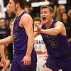 1-20-17<br /> Cass vs Northwestern boys basketball<br /> NW's 13 runs to congratulate Noah Dowden after Dowden makes a shot at the end of the first quarter.<br /> Kelly Lafferty Gerber | Kokomo Tribune