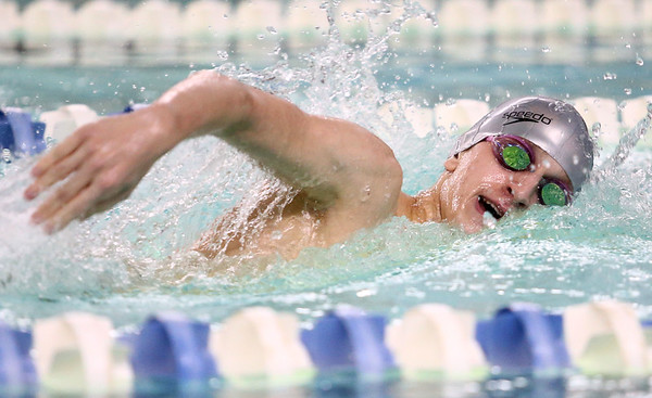 1-10-17<br /> Kokomo swimming<br /> Jack Stevens in the boys 200 Y Freestyle<br /> Kelly Lafferty Gerber | Kokomo Tribune