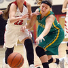 1-7-17<br /> Eastern vs Taylor girls basketball<br /> Taylor's Austyn Huffer and Eastern's Jeanie Crabtree go after a loose ball.<br /> Kelly Lafferty Gerber | Kokomo Tribune