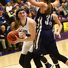 1-11-17<br /> Northwestern vs Oak Hill girls basketball<br /> NW's Stephanie Burns looks to the basket.<br /> Kelly Lafferty Gerber | Kokomo Tribune