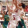 1-7-17<br /> Eastern vs Taylor girls basketball<br /> Taylor's Mya Dunham grabs a rebound.<br /> Kelly Lafferty Gerber | Kokomo Tribune
