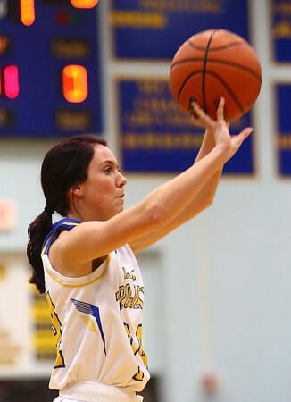 1-19-17<br /> Tri Central vs Eastern girls basketball<br /> TC's Taylor Davis shoots.<br /> Kelly Lafferty Gerber | Kokomo Tribune