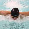 1-10-17<br /> Kokomo swimming<br /> Max White in the boys 200 Y Medley relay.<br /> Kelly Lafferty Gerber | Kokomo Tribune