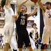1-27-17<br /> Western vs Peru boys basketball<br /> Peru's Trevon Crowe shoots.<br /> Kelly Lafferty Gerber | Kokomo Tribune